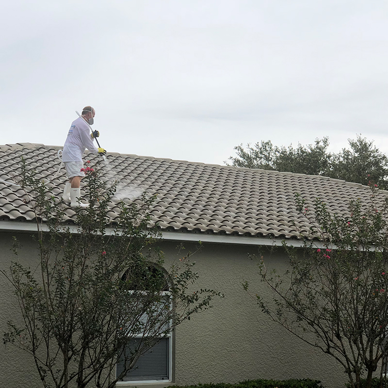 Roof Cleaning A Soft Wash Amp Pressure Washing