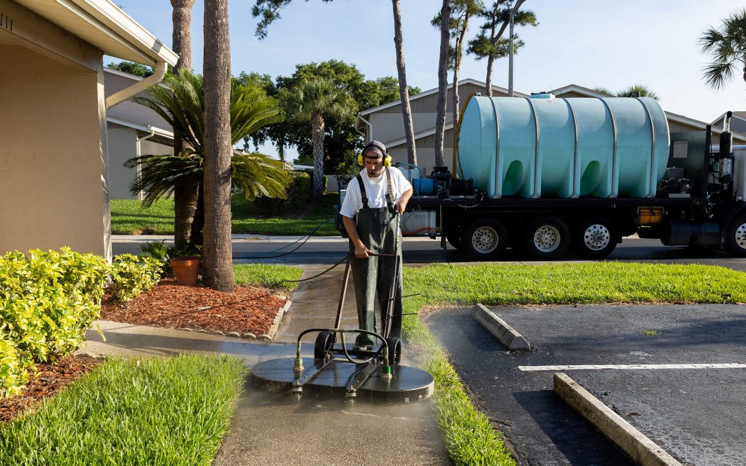 How A-Plus Softwash Helps to Protect Your Pavers Before Hurricane Season is in Full Swing
