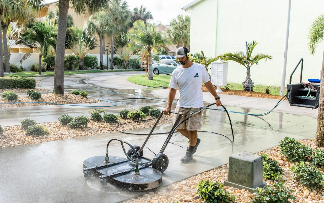 You Can Trust A-Plus Softwash to Take Care of Your Paver Sealing Services. Here's Why.